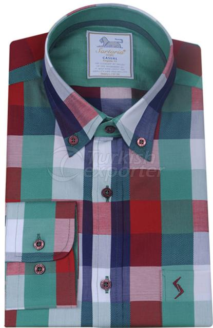 Shirts Green 4017