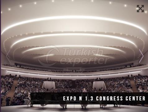 EXPO N1.3 Конгресс-центр Строительство