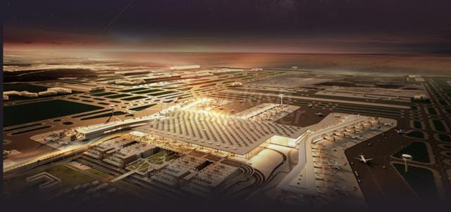 Строительство Большого аэропорта в Стамбуле