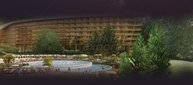 Строительство комплекса санатория Мрия