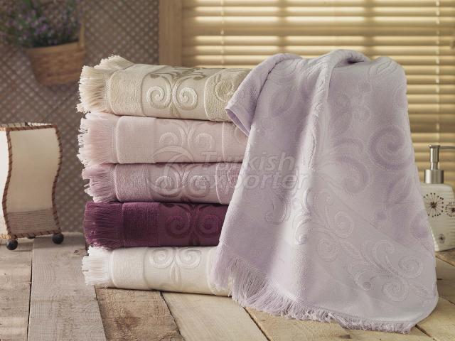 Velour Jacquard Towel Prestige