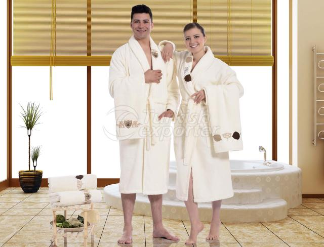 Applique Bathrobe Sets Prestige