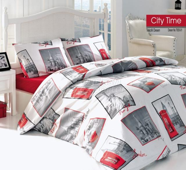 Bed Linen City Time 7635-01