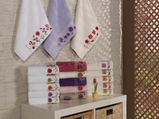 Bamboo Tufting Embroidered Towel