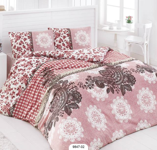 %65 Cotton Bed Linen Set