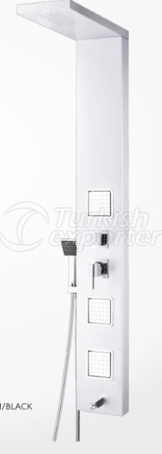 Complex Square Hydromassage System White