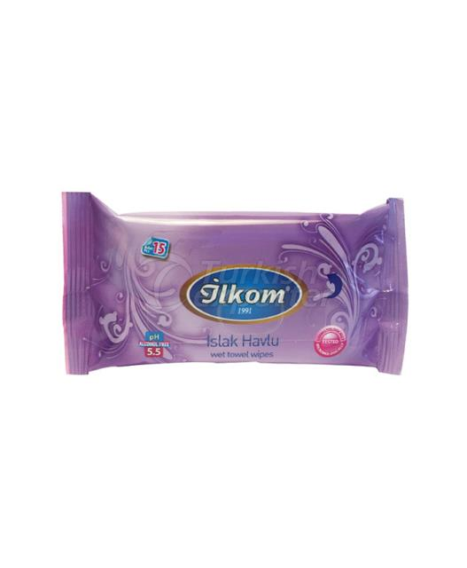 Pocket Wipes 15 pcs Purple