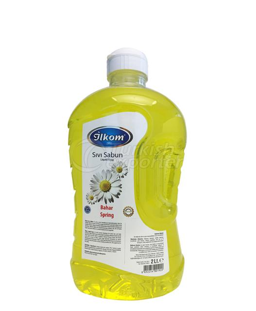 Liquid Soap 2000 ml Spring Fragrant