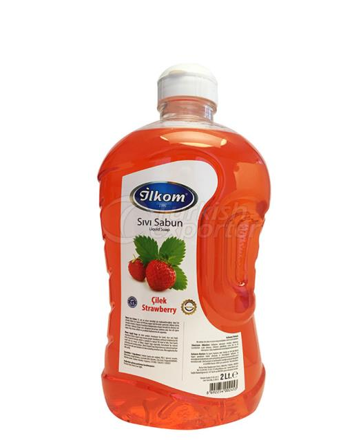 Liquid Soap 2000 ml Strawberry Fragrance