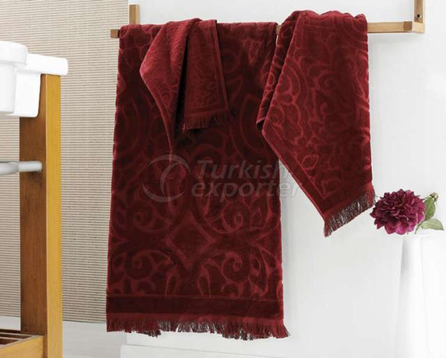 Velour Jacquard Towels
