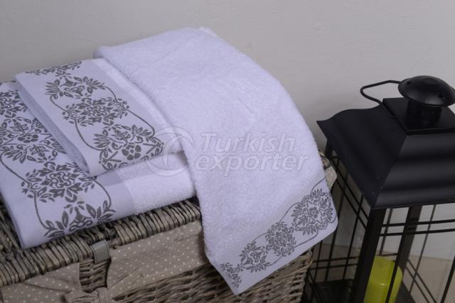 Полиэстер жаккард полотенце