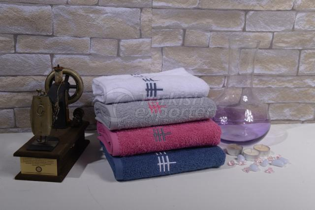 Cotton Embroidered Towels