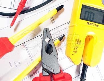 الأدوات الكهربائية والمعدات