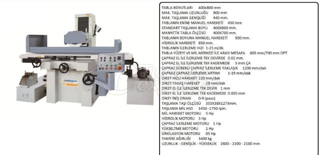 Surface Grinding-Deburring Machine